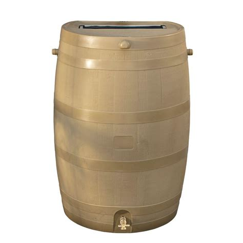 home depot barrel fan rts home accents 50 gal barrel with oak brass spigot