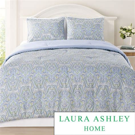 laura ashley comforter sets laura ashley maiden lane 3 piece comforter set