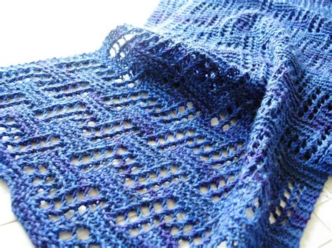all knitting architectural scarf allfreeknitting