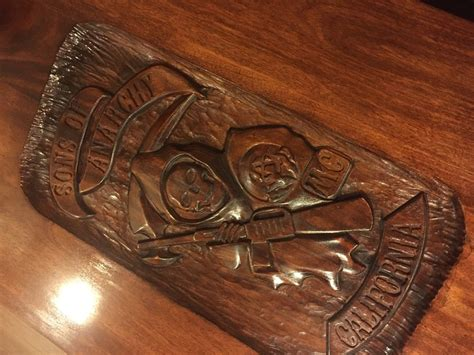 Sons Of Anarchy Meeting Table Sons Of Anarchy Soa Table By Becikeja Lumberjocks Woodworking Community