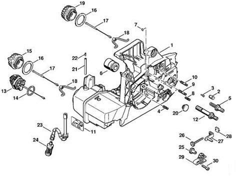 stihl 029 parts diagram stihl chainsaw 029 parts diagram diarra in stihl