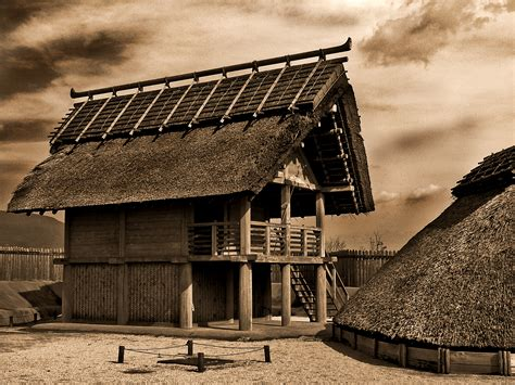 ancient japanese wood hut funky eco houses