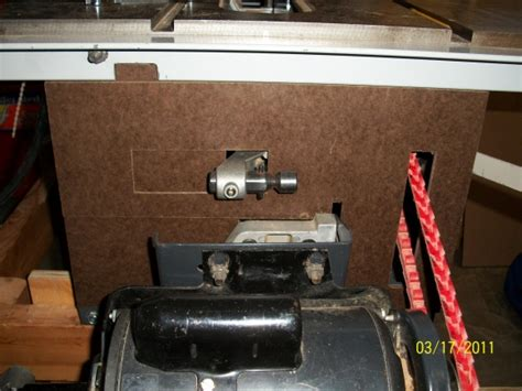 ridgid ts table dust collection woodworking talk