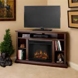 real espresso churchill corner electric fireplace