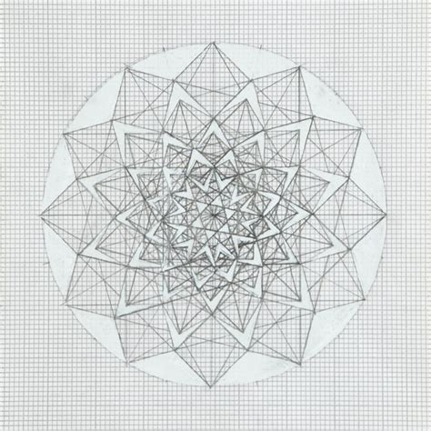 grid pattern drawing graph paper lesley halliwell