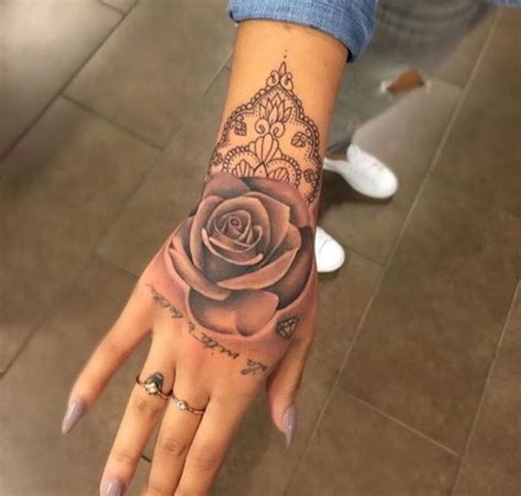 hand tattoos for girls tattoos for designs ideas and meaning