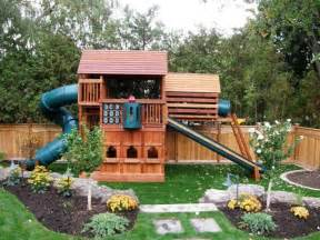 landscaping around the swingset backyard pinterest