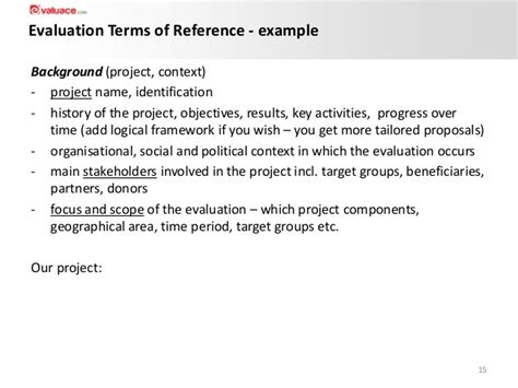 programme board terms of reference template images