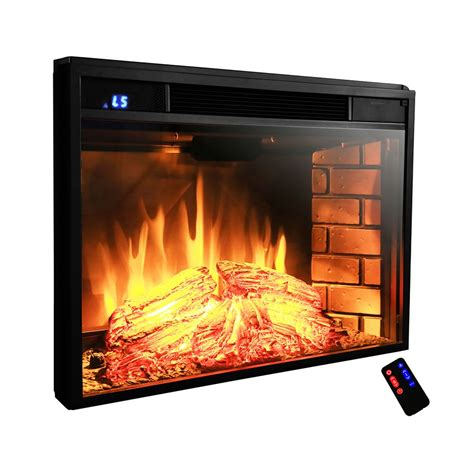 akdy ak ef0528 28 in electric fireplace insert