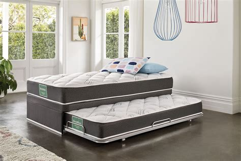 With Trundle Bed by Support King Single Trundle Bed By Sleepmaker