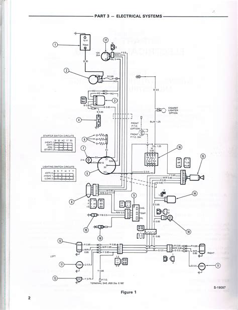 1715 ford tractor key switch wiring diagram ford tractor