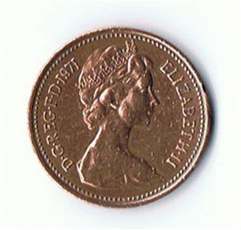 Koin One Cent Tahun 1968 koin kuno langka coin new elizabeth ii tahun 1971