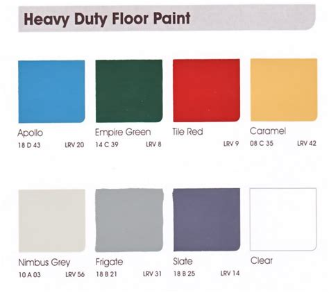 leyland trade heavy duty floor paint designer paint store