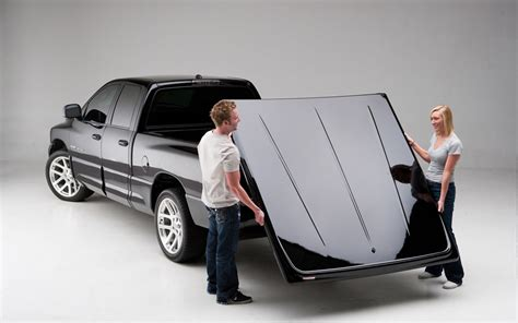 removable truck bed cover undercover lux tonneau cover painted lightweight tonneau