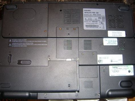 Laptop Lenovo P100 toshiba satellite p100 222 review pics specs notebookreview