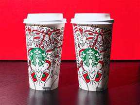 REVEALED: Starbucks' 2017 holiday cups aren't red   Business Insider