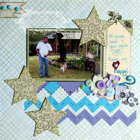 Creating Hybrid Scrapbook Layouts The Mad Cropper 3 by 53 Best Trending Chevrons Images On Bricolage