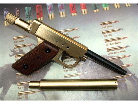 Handmade Pistol - custom made 22 pcp air pistol robert design