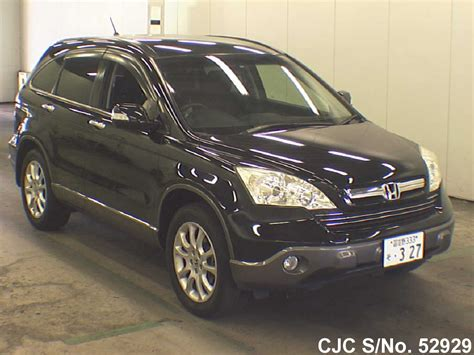 honda crv 2008 for sale 2008 honda crv black for sale stock no 52929 japanese