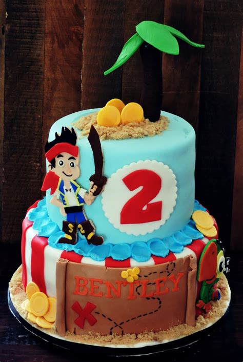 Jake And The Neverland Cake Decorations cakes or something like that jake and the neverland pirate cake