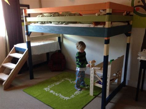 Bunk Bed With Play Area Diy Junior Loft Bunk Bed Play Area Brag Post Anawhite The Boy S Room Posts