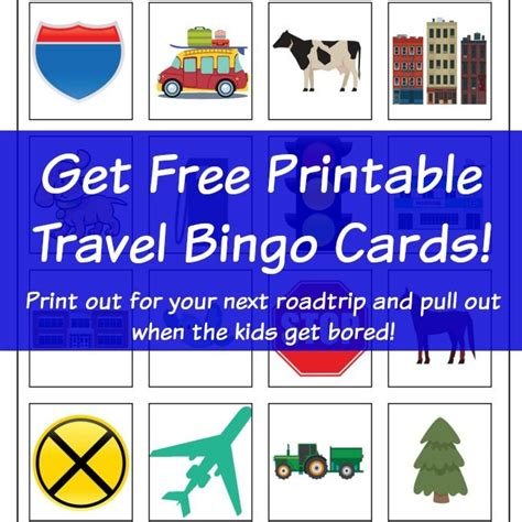 Travel Bingo Card Template by 1000 Ideas About Printable Bingo Cards On