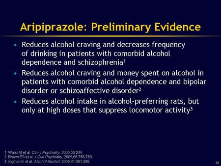 Detoxes Abilify by Neurobiology And Pharmacotherapy For Dependence