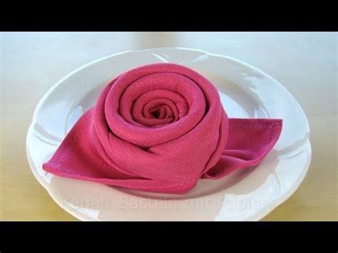 best 25 servietten falten rose ideas on pinterest