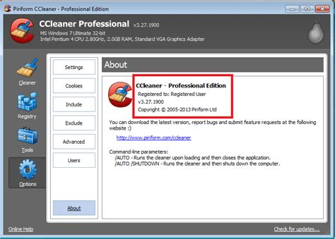 ccleaner license key ccleaner professional 3 27 1900 with crack license key