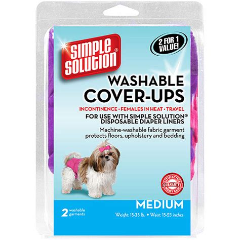 puppy diapers walmart simple solution cover ups medium 2ct walmart