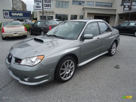 grey subaru 2007 subaru impreza wrx related infomation specifications
