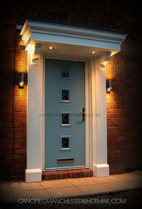 Pvc Canopy For Front Door Grp Door Surround Upvc Canopy Porch Composite