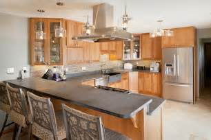 Small Kitchen Design With Peninsula floor plans u shaped kitchen with breakfast bar trend