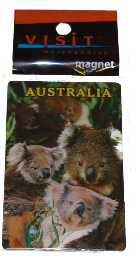 Gosir Magnet Kulkas Koala Australia about australia shop kangaroo figurine