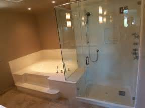 Gallery of bathtub and shower combo