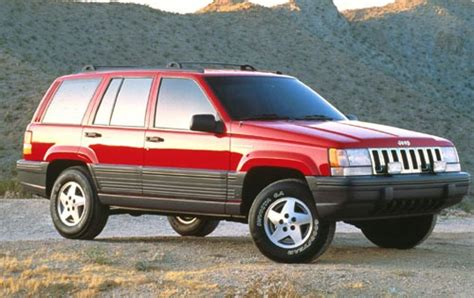 old car repair manuals 1994 jeep grand cherokee seat position control used 1994 jeep grand cherokee pricing for sale edmunds