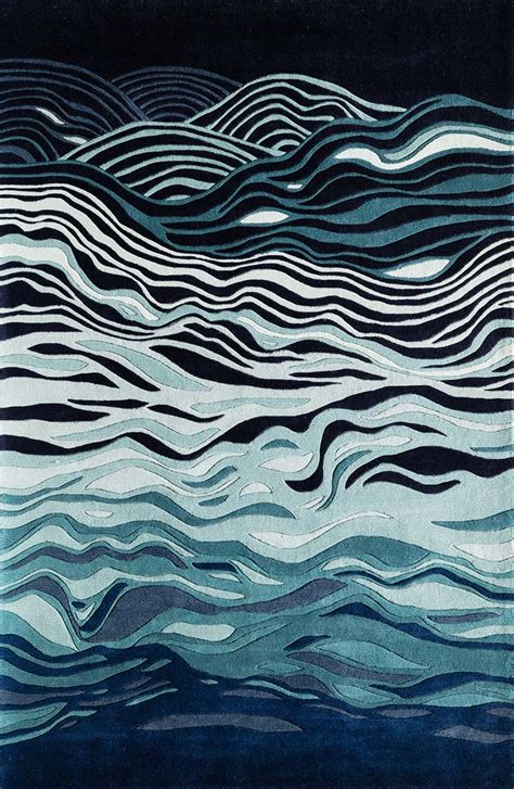 momeni rugs new wave momeni new wave nw144 navy rug
