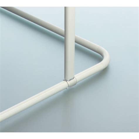Support Barre Rideau Plafond by Spirella Support Plafond Pour Barre 224 Rideau De 60 Cm