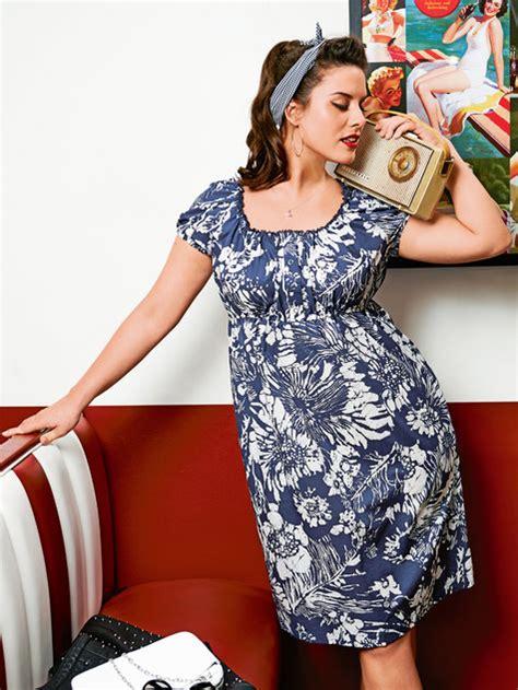 free pattern empire waist dress empire waist dress with puff sleeves plus size 07 2014