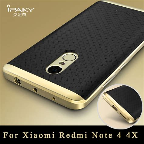 Casing Redmi Note 3 Original Ipaky Brand Luxury Slim Pc Frame xiaomi redmi note 4 original ipaky xiaomi redmi note 4 pro silicone back cover pc frame