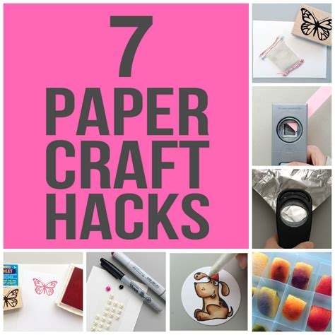 Paper Crafting Techniques - paper crafting tips tricks that ll save you time money