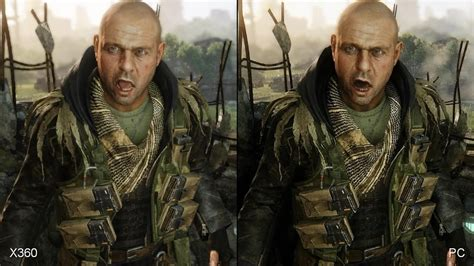 3 crisis analysis one in crysis 3 xbox 360 vs pc comparison