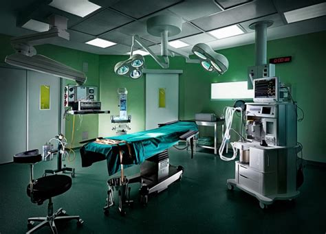Surgery Room by Glossy Operating Room Photos Undergo Tonal Plastic Surgery