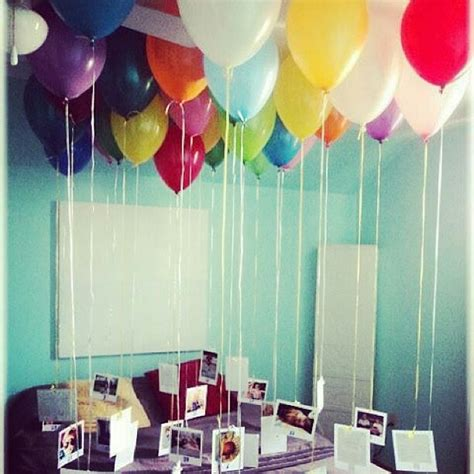 Photos Attached To Helium Filled Balloons Doing This For