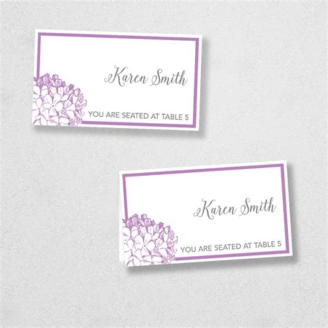 Avery Free Printable Place Card Template by Avery Place Card Template Instant Card