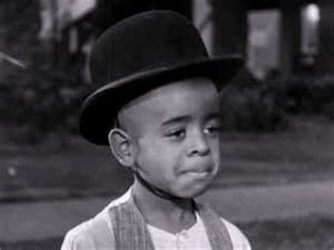 actor stymie beard stymie from the little rascals quot ham and eggs quot youtube