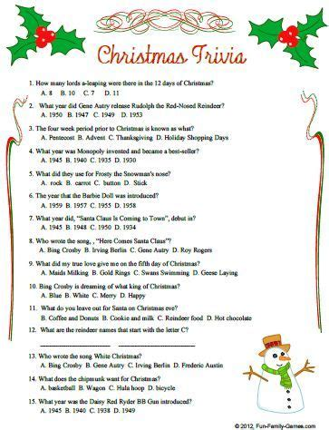 best christmas trivia facts 25 unique quiz questions ideas on trivia questions