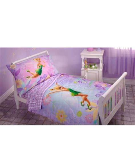 tinkerbell toddler bedding tinkerbell 4 piece toddler bedding set 56 99
