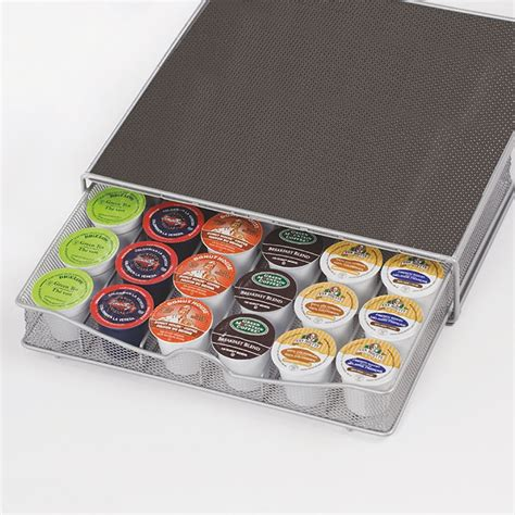 coffee pod drawer dolce gusto 36 coffee pod holder drawer tray machine stand nescafe