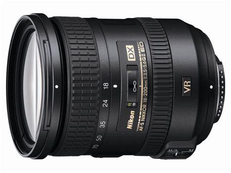 nikon lens 18 200 nikon af s dx nikkor 18 200mm f 3 5 5 6g ed vr ii lens